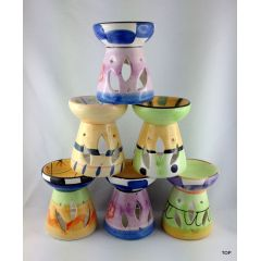 Duftstövchen Keramik  Duftlampe aus Keramik gearbeitet