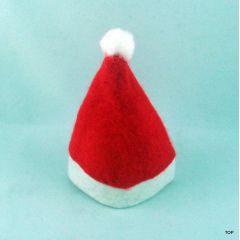 Weihnachtsmütze 10er Pack Minimütze Christbaumschmuck Eierwärmer Flaschenmütze Flaschen