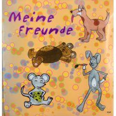 Freundebuch Meine Freunde Freundschaftsbuch Poesiealbum tolles einigartiges Erinnerungsstück