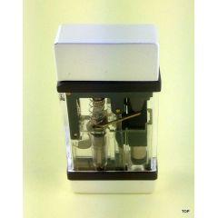 Feuerzeug Gas Sturmfeuerzeug mit Blinklicht Transparent TOP Qualität