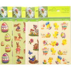 Deko Ostersticker Label Ostern Aufkleber Ei Sticker Osterdeko
