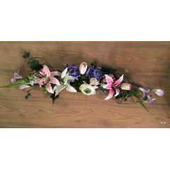 Kunstblumengesteck künstliche Blumendekoration Tischgesteck