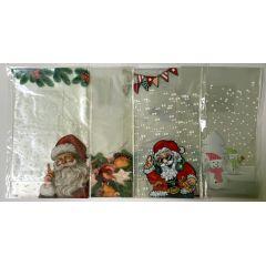 Bodenbeutel, Klarsichtbeutel, Weihnachten, 8 Stück 145 x 235 mm