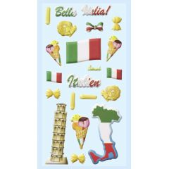 Original Hobbyfun SOFTY-Sticker, Italien