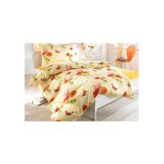 Bettwäsche, 1 Duvet 160x210 cm und 1 Pfulmen 65x100 cm, farbe gelb