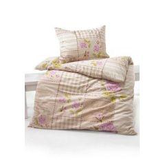 2 tlg. Bettwäsche, 1 Pfulmen 65x100 cm & 1 Duvet 160x210 cm, farbe roser