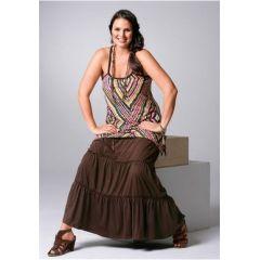 Top im Indio-Style, 50, farbe allover