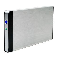 FANTEC fanbox FB-C25US2 eSATA USB 2.0 Externes 8,89cm 2,5Zoll SATA Gehaeuse Mit Transporttasche Slim