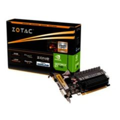 Grafikkarte ZOTAC 2GB GeForce GT 730, VGA, DVI, HDMI PCI-E