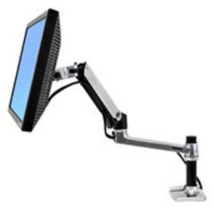 ERGOTRON LX Desk Mount LCD Arm poliertes Aluminium