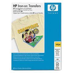 HP Paper/Iron On Transfers f TShirt 12 Stück