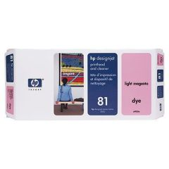 HP InkCart/L.MagentaPrinthead No.81
