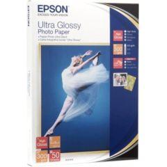 EPSON Fotopapier Ultra glossy 10x15 20Blatt fuer Stylus R200 R300 R320 R800 RX425 RX500 RX600 RX620