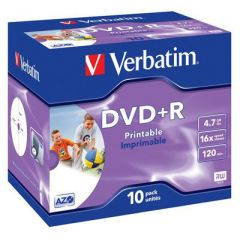 DVD+R 4,7GB Verbatim DL+ 16x 10er Pack