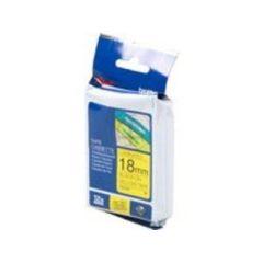 BROTHER TZE641 Schriftbandkassette gelb schwarz 18mmx8m laminiert fuer P- touch 210E 220 300 310 340