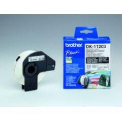 BROTHER DK11203 Ordnerregister Etiketten fuer QL550 QL500 300pcs/roll 17x87
