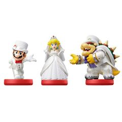 amiibo Figur Super Mario Odyssey 3Pack