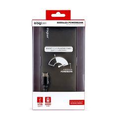 Nintendo Switch - Powerbank 8000mAh inkl. Ladekabel (USB A auf USB C)