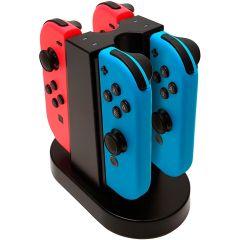 Nintendo Switch - Quad Charging Station für Joy-Con Controller / Ladestation für 4 Joy-Con Controller