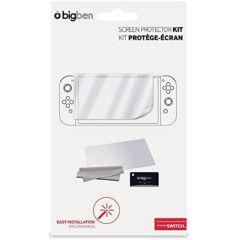 Nintendo Switch - Screen Protection Kit (Bildschirm Schutzfolie & Reinigungstuch)