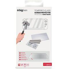 Nintendo Switch - Tempered Glass Screen Protector (Bilschirmschutz & Reinigungstuch)
