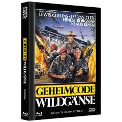 Geheimcode Wildgänse [Limitierte Collector´s Edition] (+ DVD) - Mediabook