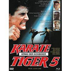 Karate Tiger 5 - König der Kickboxer - Mediabook - Limitiert / Cover B (+ DVD)