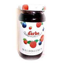 Darbo Fruchtaufstrich Waldbeeren kalorienreduziert 220g