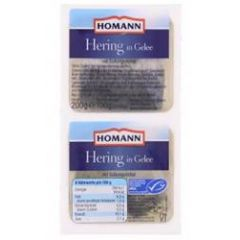 Homann Heringe in Gelee 2 x 100g
