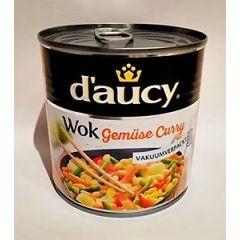 d´aucy Wok Gemüse Curry Gemüsemischung 290g