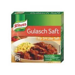 Knorr Gulasch Saft 75g - 6 Würfel