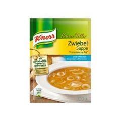 Knorr Kaiser Teller Zwiebel Suppe Französische Art 60g
