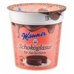 Manner Schokoladenglasur für Sacher Torte 200g