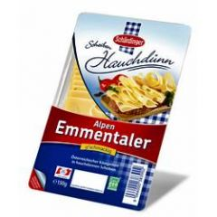 Schärdinger Alpen Emmentaler hauchdünne Scheiben 150g