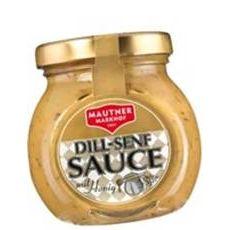 Mautner Markhof Dill-Senf Sauce mit Honig 100g