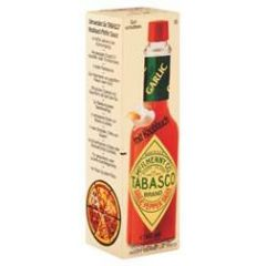 McILHENNY Tabasco Brand Garlic Pepper Sauce - mit Knoblauch 60ml