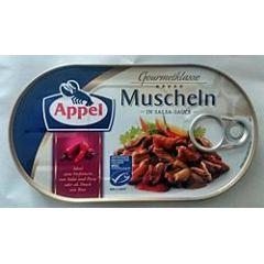Appel Muscheln in Salsa-Sauce