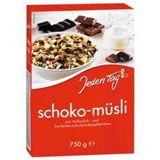 Jeden Tag Schoko Müsli 750g