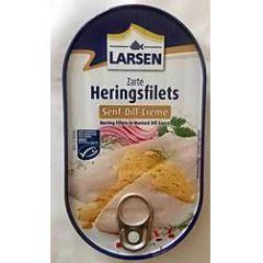 Larsen zarte Heringsfilets Senf-Dill-Creme