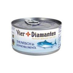 Vier Diamanten Thunfisch natur 150g