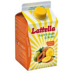 Lattella Molkedrink Ananas/Papaya  500 ml