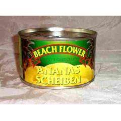 Beach Flower Ananas Scheiben