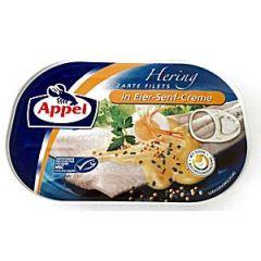 Appel Heringsfilets Eier-Senf-Creme 200g