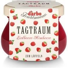 Darbo Tagtraum Fruchtmousse Erdbeere-Himbeere