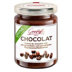 Grashoff Dunkle Chocolat mit Espressocafé 250g