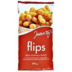 Jeden Tag Flips Mais-Erdnuss Snack 200 g