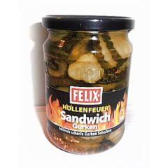 Felix Höllenfeuer Sandwich Gurken