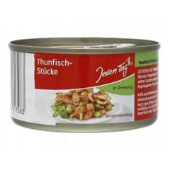 Jeden Tag Thunfisch-Stücke in Dressing 185 g