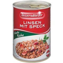 Inzersdorfer Linsen mit Speck 400g