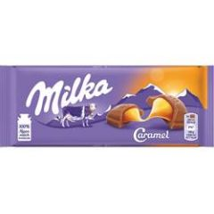 Milka Schokolade Caramel 100 g
